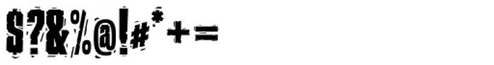 P22 Ruffcut Woody Font OTHER CHARS