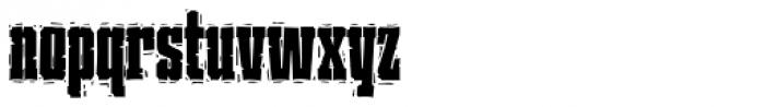 P22 Ruffcut Woody Font LOWERCASE