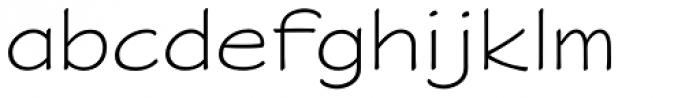 P22 Saarinen Font LOWERCASE