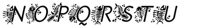 P22 Speyside Initials Italic Font UPPERCASE