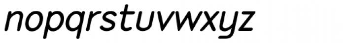 P22 Speyside SemiBold Italic Font LOWERCASE