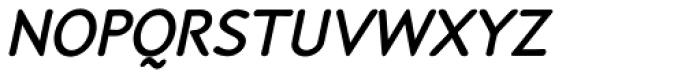 P22 Speyside SemiBold SC Italic Font LOWERCASE