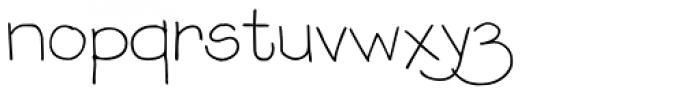 P22 Stanyan Autumn Regular Font LOWERCASE