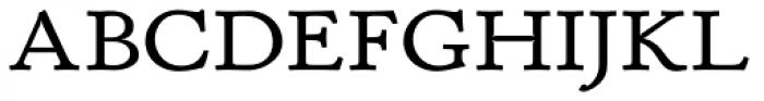P22 Stickley Pro Caption Font UPPERCASE