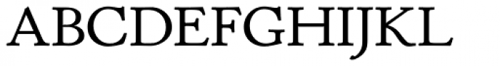 P22 Stickley Pro Text Font UPPERCASE