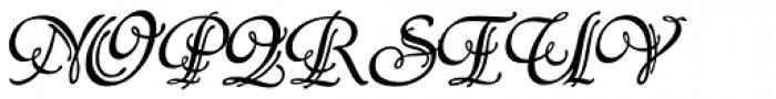 P22 Symphony Font UPPERCASE