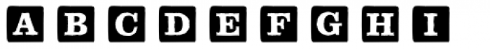 P22 ToyBox Blocks Solid Font LOWERCASE