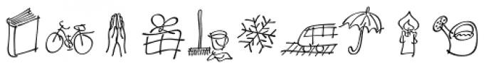 P22 Tulda Symbols Font LOWERCASE