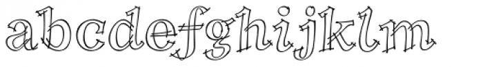 P22 Tulda Font LOWERCASE