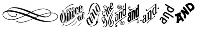 P22 Victorian Ornaments Two Font UPPERCASE