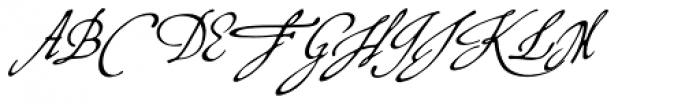 P22 Virginian Font UPPERCASE