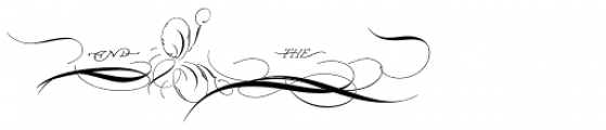 P22 Zaner Three Xtras Font OTHER CHARS