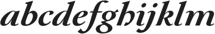 Paciencia Black Italic otf (900) Font LOWERCASE