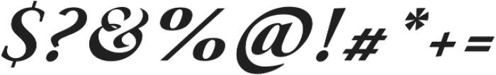 Paciencia Black Italic ttf (900) Font OTHER CHARS