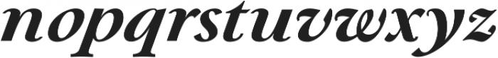 Paciencia Black Italic ttf (900) Font LOWERCASE