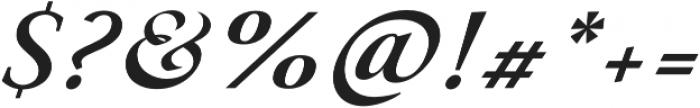 Paciencia Bold Italic otf (700) Font OTHER CHARS