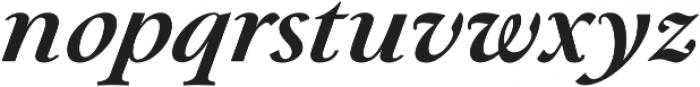 Paciencia Bold Italic otf (700) Font LOWERCASE