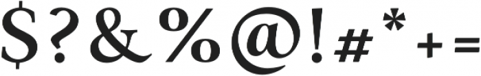 Paciencia Bold otf (700) Font OTHER CHARS