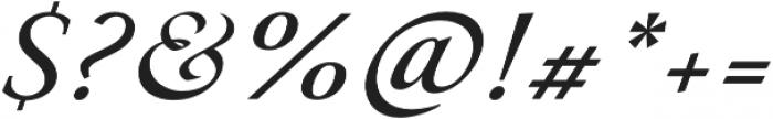 Paciencia Medium Italic otf (500) Font OTHER CHARS