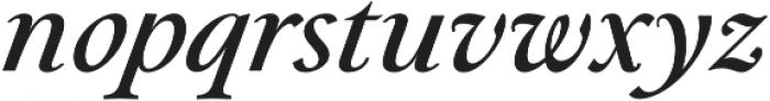 Paciencia Medium Italic otf (500) Font LOWERCASE