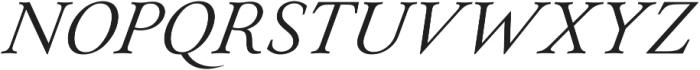 Paciencia Regular Italic ttf (400) Font UPPERCASE