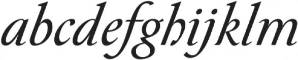 Paciencia Regular Italic ttf (400) Font LOWERCASE