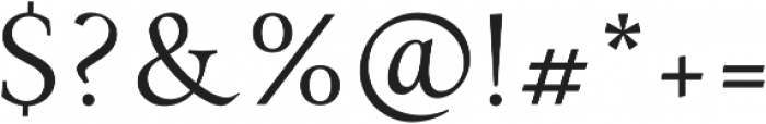 Paciencia otf (400) Font OTHER CHARS