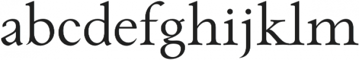 Paciencia otf (400) Font LOWERCASE