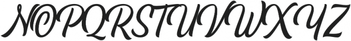 Pacific Coast Script Regular otf (400) Font UPPERCASE