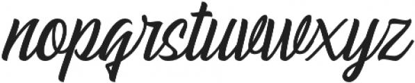 Pacific Coast Script Regular otf (400) Font LOWERCASE