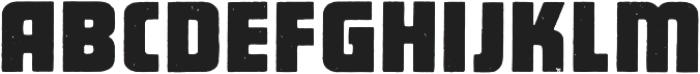 Pacifico Regular otf (400) Font UPPERCASE