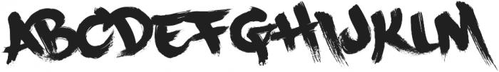 PaintCans otf (400) Font LOWERCASE