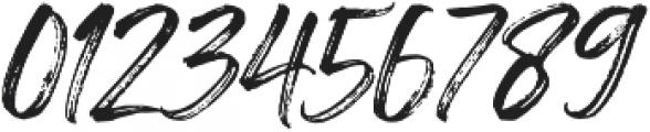 Painted Brush Regular otf (400) Font OTHER CHARS