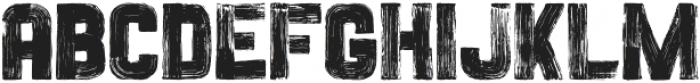 Painted Sans Serif Vector otf (900) Font UPPERCASE