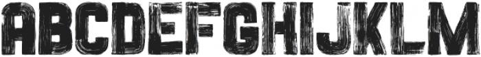 Painted Sans Serif Vector otf (900) Font LOWERCASE