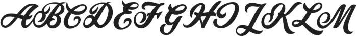 Painter otf (400) Font UPPERCASE