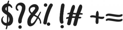 Paitane otf (400) Font OTHER CHARS