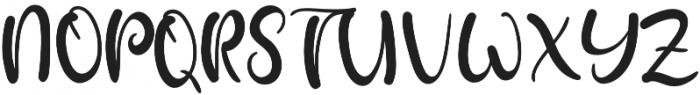 Paitane otf (400) Font UPPERCASE