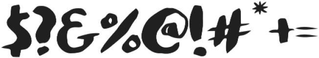 Palapa Regular otf (400) Font OTHER CHARS
