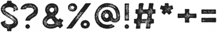 Palestone Fabric otf (400) Font OTHER CHARS