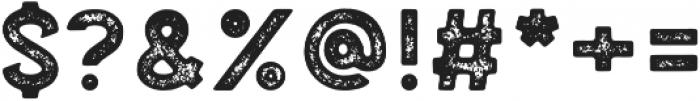 Palestone Grunge otf (400) Font OTHER CHARS