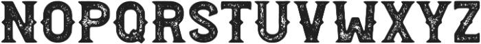 Palestone Grunge otf (400) Font UPPERCASE
