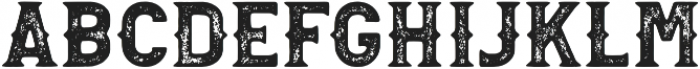 Palestone Grunge otf (400) Font LOWERCASE