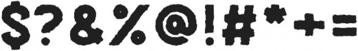 Palestone Worn Bold otf (700) Font OTHER CHARS