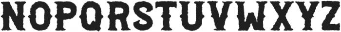 Palestone Worn Bold otf (700) Font LOWERCASE