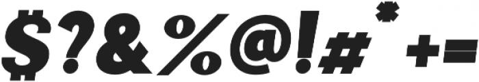 Palestra Bold Italic otf (700) Font OTHER CHARS