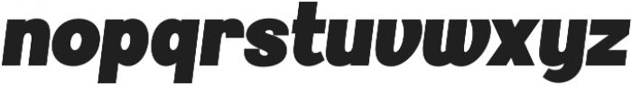 Palestra Bold Italic otf (700) Font LOWERCASE