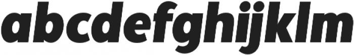 Palestra Italic otf (400) Font LOWERCASE