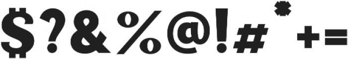 Palestra otf (400) Font OTHER CHARS