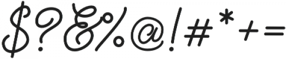 Palm Beach Script Clean otf (400) Font OTHER CHARS